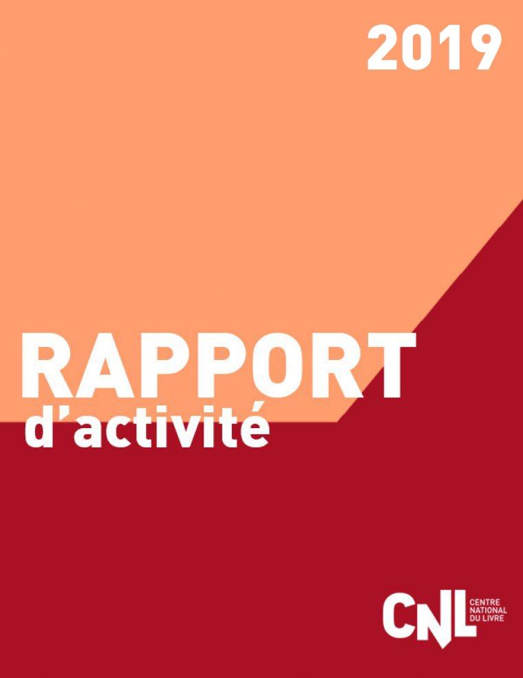 Rapport D Activite 2019 Centre National Du Livre